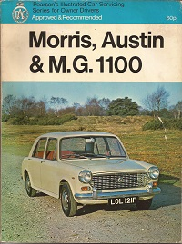Austin Morris and MG 1100 Owners Manual
