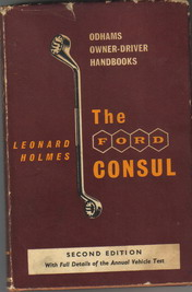 Ford Consul Owner Driver Handbook