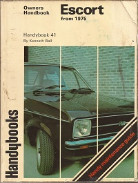 Ford Escort Mk2 Owners Maintentance Guide ISBN085147884