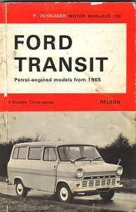 Ford Transit Owners Manual