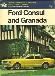 Ford Consul and Granada Owners Manual