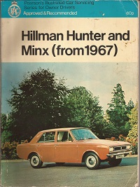 Hillman Hunter & Minx Owners Manual