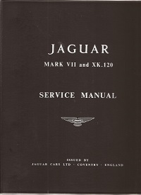 Jaguar Mk7 & Xk120 Service Manual