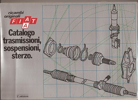 Fiat Transmission Suspension & Steering Parts book