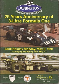 Donnington 25th Anniversary of F1 Programme
